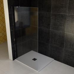 POLYSAN - VITRA LINE boční stěna 1055mm, levá, čiré sklo (BN7415L)