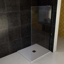 POLYSAN - VITRA LINE boční stěna 955mm, pravá, čiré sklo (BN6115R)