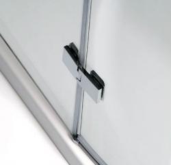 POLYSAN - VITRA LINE zástěna, čtverec s rohovým vstupem 800x800mm, čiré sklo (BN1515), fotografie 16/8