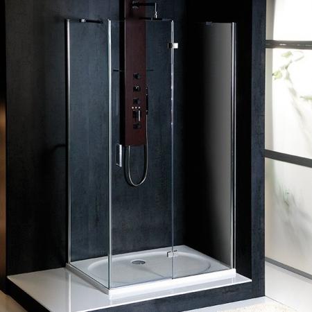POLYSAN - VITRA LINE zástěna, obdélník 1000x700mm, pravá, čiré sklo (BN7215R)