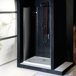 POLYSAN - VITRA LINE sprchové dveře 1000mm, levé, čiré sklo (BN2915L)
