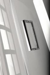 POLYSAN - VITRA LINE sprchové dveře 1100mm, levé, čiré sklo (BN3915L), fotografie 8/4