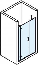 POLYSAN - VITRA LINE sprchové dveře 1200mm, levé, čiré sklo (BN3015L), fotografie 6/4
