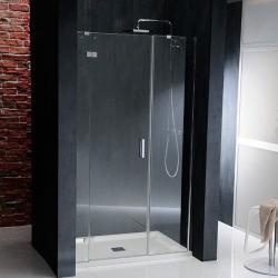 POLYSAN - VITRA LINE sprchové dveře 1400mm, levé, čiré sklo (BN4115L)