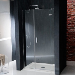POLYSAN - VITRA LINE sprchové dveře 1400mm, pravé, čiré sklo (BN4115R)