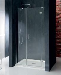 POLYSAN - VITRA LINE sprchové dveře 1400mm, pravé, čiré sklo (BN4115R), fotografie 6/4