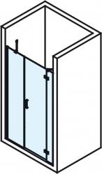 POLYSAN - VITRA LINE sprchové dveře 1400mm, pravé, čiré sklo (BN4115R), fotografie 4/4