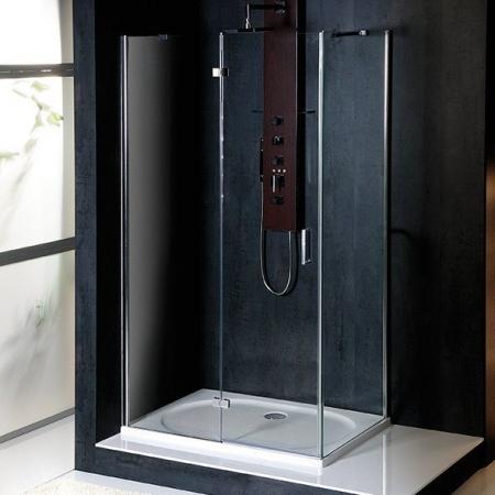 POLYSAN - VITRA LINE zástěna, obdélník 1000x900mm, levá, čiré sklo (BN8215L)