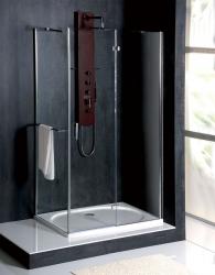POLYSAN - VITRA LINE zástěna, obdélník 1100x900mm, pravá, čiré sklo (BN5815R), fotografie 4/8