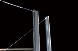 POLYSAN - VITRA LINE zástěna, obdélník 1100x900mm, pravá, čiré sklo (BN5815R), fotografie 8/8