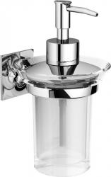 WIZARD dávkovač mýdla, akryl/chrom (WZ01D) - IBB