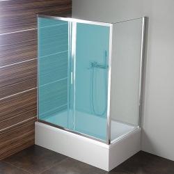POLYSAN - DEEP boční stěna 750x1500 mm, čiré sklo (MD3115)