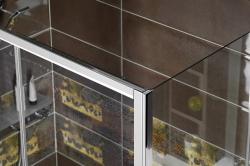 POLYSAN - DEEP boční stěna 900x1500 cm, čiré sklo (MD3315), fotografie 12/6