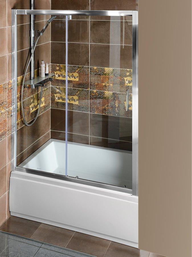 DEEP sprchové dveře posuvné 1100x1500mm, čiré sklo (MD1115)