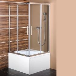 POLYSAN - CARMEN čtvercová sprchová zástěna 900x900x1500mm, čiré sklo (MD5115)