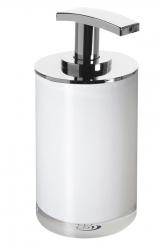 Gedy - VEGA dávkovač mýdla na postavení, bílá (VG8002)