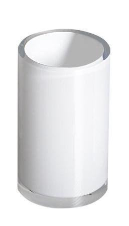 Gedy - VEGA sklenka na postavení, bílá (VG9802)