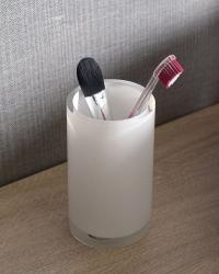 Gedy - VEGA sklenka na postavení, bílá (VG9802), fotografie 4/2