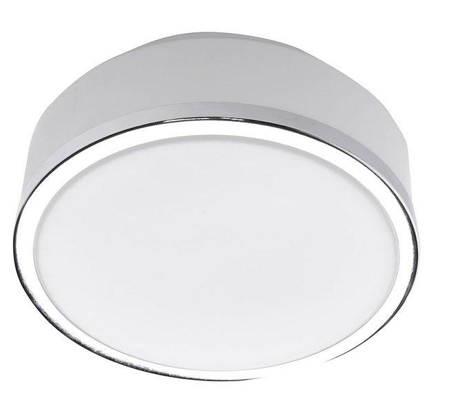 FLUSH stropní svítidlo 2xE27, 60W, 230V, chrom (AU491)