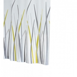 RIDDER - GRAS sprchový závěs 180x200cm, polyester (42385)