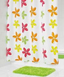 RIDDER - FLEUR sprchový závěs 180x200cm, polyester (473500), fotografie 2/1