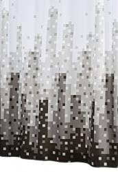 RIDDER - SKYLINE sprchový závěs 180x200cm, polyester (47367)