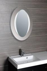 SAPHO - MONA zrcadlo s LED osvětlením 700x1000mm, bílá (DL440), fotografie 6/3