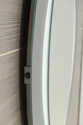 SAPHO - MONA zrcadlo s LED osvětlením 700x1000mm, bílá (DL440), fotografie 2/3