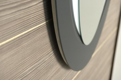 SAPHO - MONA zrcadlo s LED osvětlením 700x1000mm, bílá (DL440), fotografie 4/3