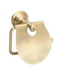 SAPHO - ASTOR držák toaletního papíru s krytem, bronz (1326-17)
