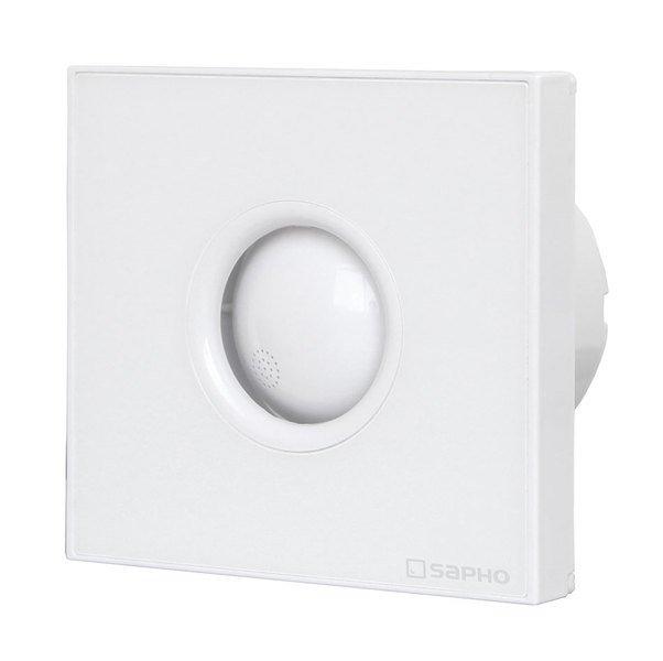 LITE koupelnový ventilátor axiální, 15W, potrubí 100mm, bílá (LT101)