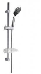 ALEX sprchová souprava s mýdlenkou, posuvný držák, 810mm, chrom (1202-21) - SAPHO