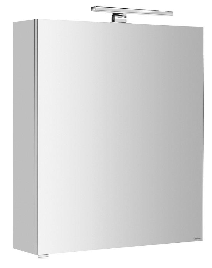 RIWA galerka s LED osvětlením, 60x70x17cm, bílá (RW062)