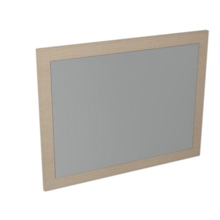 SAPHO - LARGO zrcadlo v rámu 700x900x28mm, dub benátský (LA714)