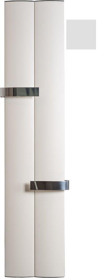 OTHELLO TWIN otopné těleso 460x1890 mm, 2 držáky ručníků otevřené, met.stříbrná (2221189046SS)
