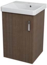 SAPHO - THEIA umyvadlová skříňka 46,4x70x43,5cm, 1xdvířka, borovice rustik (TH055)