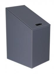 SAPHO - DIAGONAL koš na prádlo 30x61(43)x40cm, šedá (2466GR)