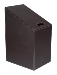 SAPHO - DIAGONAL koš na prádlo 30x61(43)x40cm, hnědá (2466DB)