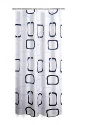 RIDDER - GEO sprchový závěs 180x200cm, polyester (403290)