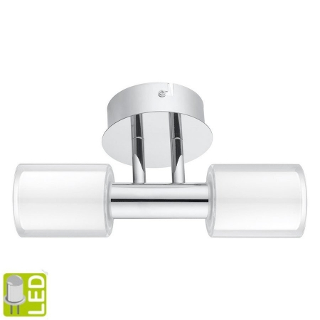 SAPHO - PALERMO nástěnné osvětlení G9-LED,2x 2,5W, 230V,chrom (94994)