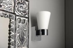 SAPHO - CAILIN nástěnné svítidlo G9-LED,1x2,5W, 230V, IP44, chrom (94988), fotografie 6/4