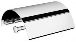 LONDON držák toaletního papíru s krytem, chrom (LD11C) - IBB