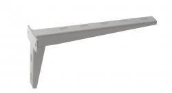 SAPHO - Podpěrná konzole 300x140x76mm, lakovaná ocel, bílá mat (30383)