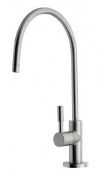 Ventil na filtrovanou vodu, výška 277 mm, nikl (DI20) - Aqua Aurea