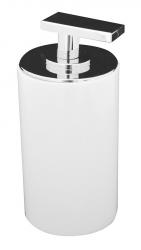 AQUALINE - PARIS dávkovač mýdla na postavení, bílá (22250501)
