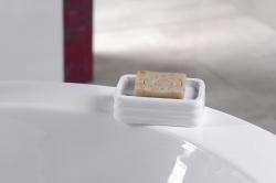AQUALINE - GLADY mýdlenka na postavení, bílá (GL1102), fotografie 2/1