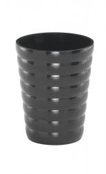 AQUALINE - GLADY sklenka na postavení, černá (GL9814)
