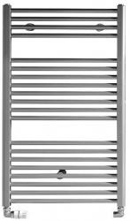 DIRECT otopné těleso s bočním připojením 450x970 mm, 415 W, metalická stříbrná (ILS94) - AQUALINE