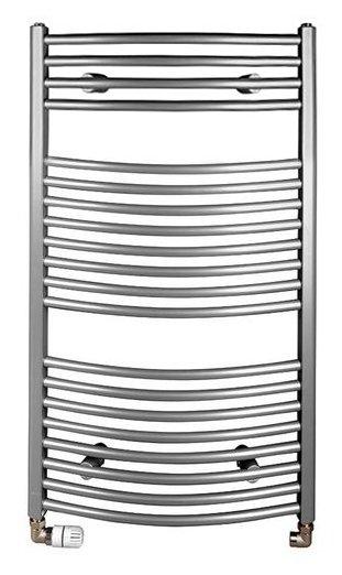 ORBIT otopné těleso s bočním připojením 450x970 mm, 419 W, metalická stříbrná (ILA94)