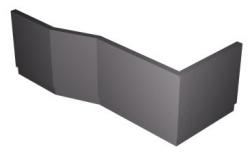 POLYSAN - VERSYS L 170 TIFA panel rohový (70419)